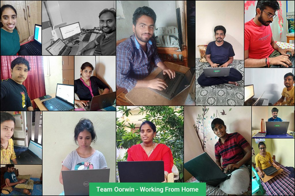 Team Oorwin - Working From Home