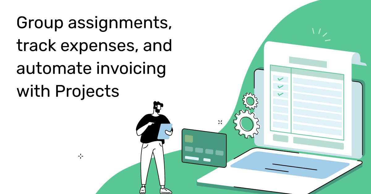 #projects #assignments #invoices
